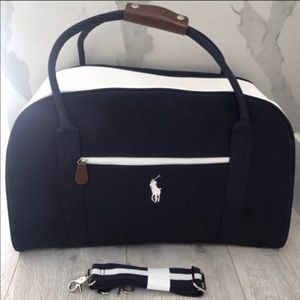 Polo Ralph Lauren Duffel Bag Weekender Gym Holdall